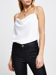 river-island-cowl-neck-cami-white