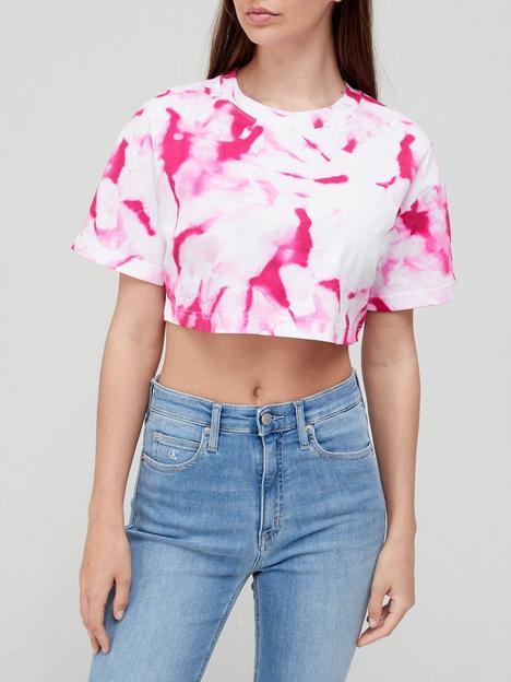 calvin-klein-jeans-marble-all-over-printnbspt-shirt-pink