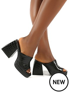 public-desire-oreo-heeled-sandal-black