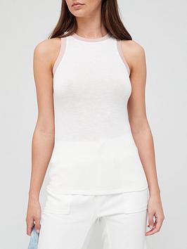 michelle-keegan-contrast-trim-jersey-vest-whitenbsp