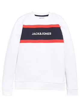 jack-jones-junior-boys-sweat-top-whitenavy-blazer