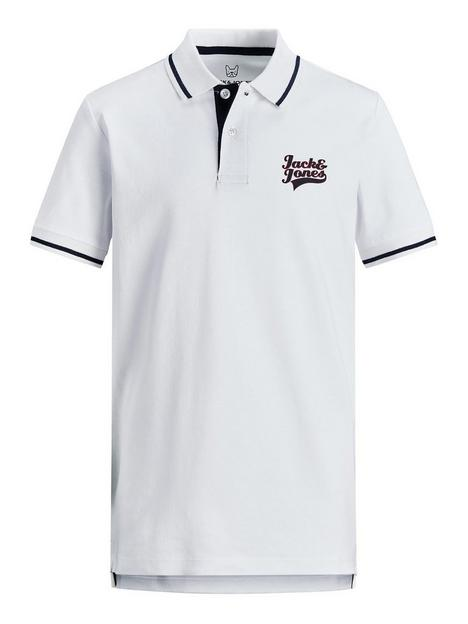jack-jones-junior-boys-essential-short-sleeve-polo-white