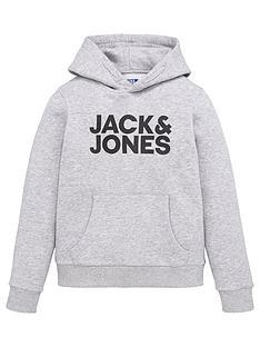 jack-jones-junior-boys-essential-large-logo-hoodie-light-grey-marl