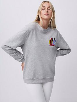 french-connection-french-connection-love-graphic-crew-neck-sweat-grey