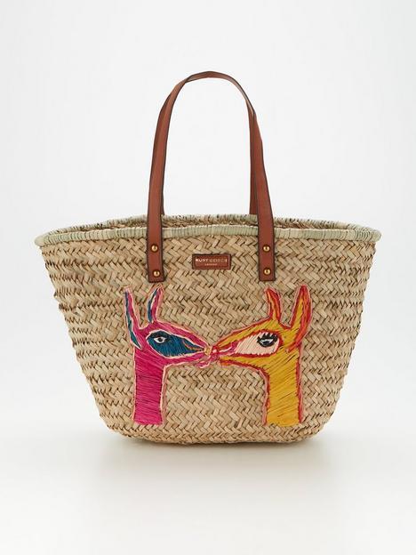 kurt-geiger-london-kensington-llama-tote-bag-pink