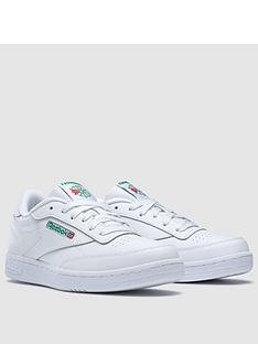 reebok-boys-club-c-juniornbsptrainers-white