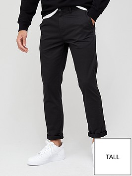 very-man-tall-elastic-waist-comfort-stretch-chino-black