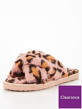 v-by-very-faux-fur-animal-slider-pink