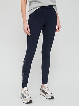 tommy-hilfiger-side-logo-leggings-navy