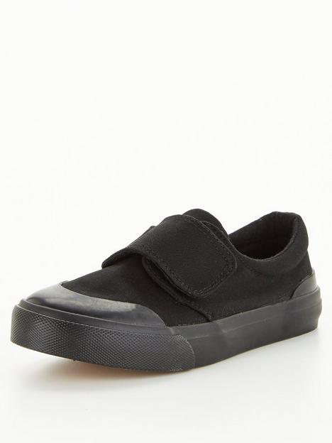 v-by-very-toezone-at-v-by-verynbspschool-penbspcanvas-pump-black