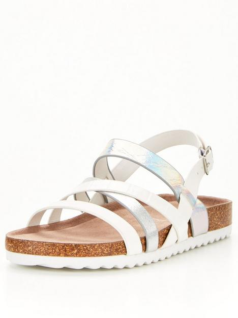 v-by-very-girls-strappy-footbed-sandal-white