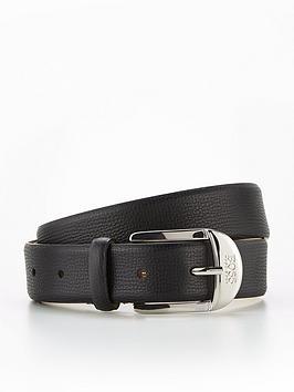 boss-nicole-leather-belt-black