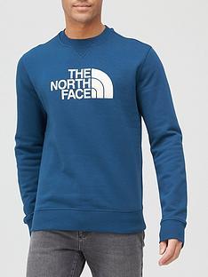 the-north-face-drew-peak-crew-neck-sweat-blue