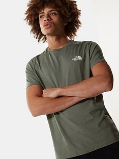 the-north-face-simple-dome-t-shirt-green
