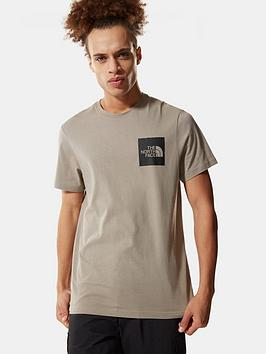 the-north-face-fine-t-shirt-grey