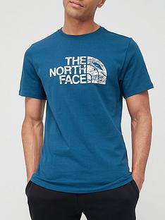 the-north-face-wood-dome-t-shirt-blue
