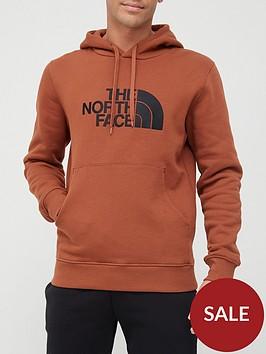 the-north-face-drew-peak-overhead-hoodie-brown