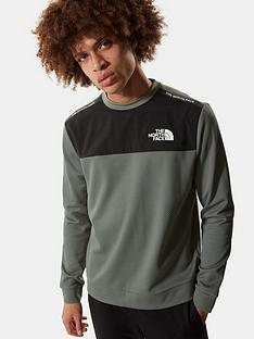the-north-face-mountain-athletics-crew-neck-sweat-top-green