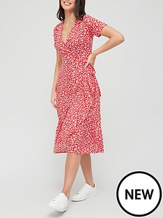 v-by-very-printed-wrap-midi-dress-red-print