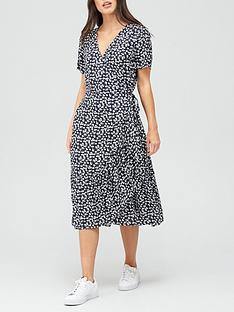 v-by-very-printed-wrap-midi-dress-blue-print