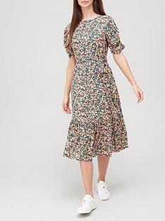 v-by-very-printed-round-neck-tie-waist-midi-dress-print