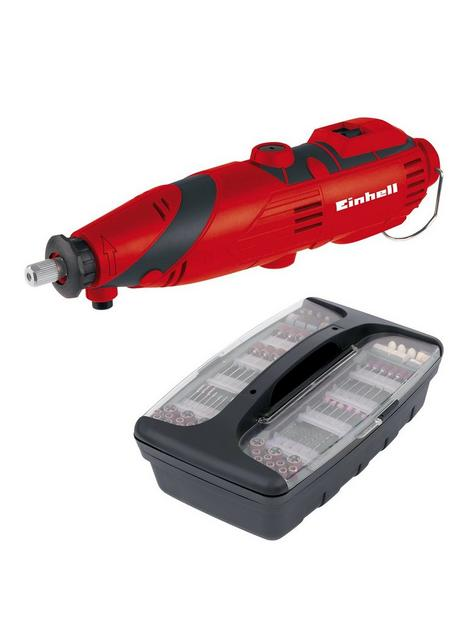 einhell-einhell-classic-135w-rotary-multi-tool-with-189pc-accessory-kit