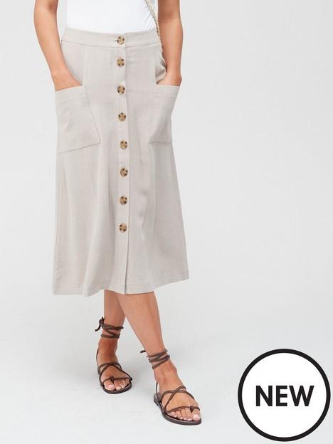 v-by-very-linen-button-through-midi-skirt-neutralnbsp