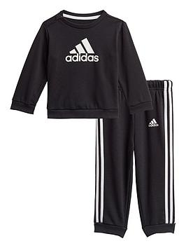 adidas-unisex-infant-i-badge-of-sport-jog-set-black