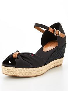 tommy-hilfiger-basic-open-toe-mid-wedge-black