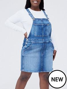 tommy-jeans-plus-dungaree-dress-denimnbsp