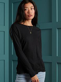 superdry-superdry-embroidered-hem-slub-long-sleeved-top