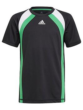 adidas-boys-junior-b-arbold-t-shirt-blackgreen