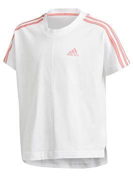 adidas-girls-junior-g-3-stripes-t-shirt-white
