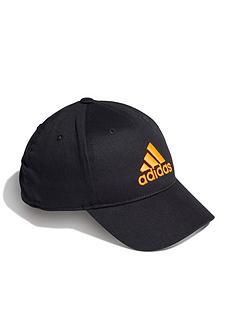adidas-unisex-juniornbspgraphic-cap-blackorange