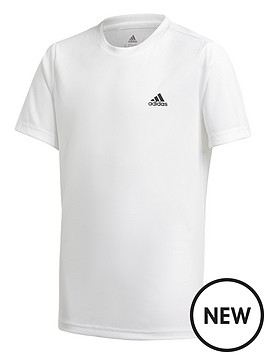 adidas-boys-junior-t-shirt-white