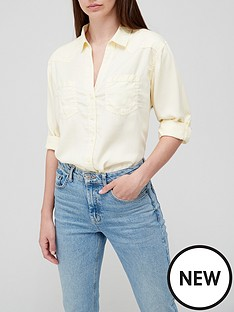 v-by-very-soft-touch-casual-shirt-yellow