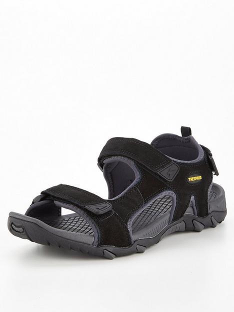 trespass-belay-sandals-black