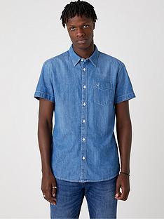 wrangler-short-sleeved-denim-shirt-light-summer