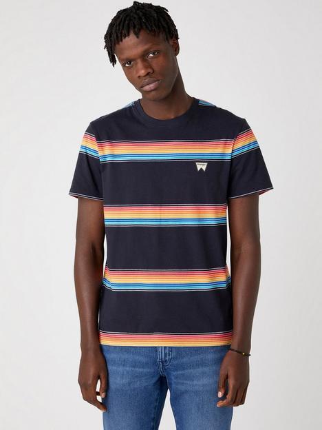 wrangler-rainbow-t-shirt-dark-navy
