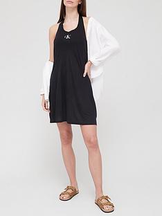 calvin-klein-swim-apparel-beach-dress-black