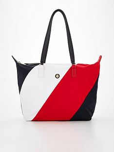 tommy-hilfiger-colour-block-poppy-tote-bag-multi