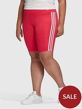 adidas-originals-short-tights-plus-size-red