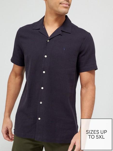 very-man-plain-linen-shirt-navy