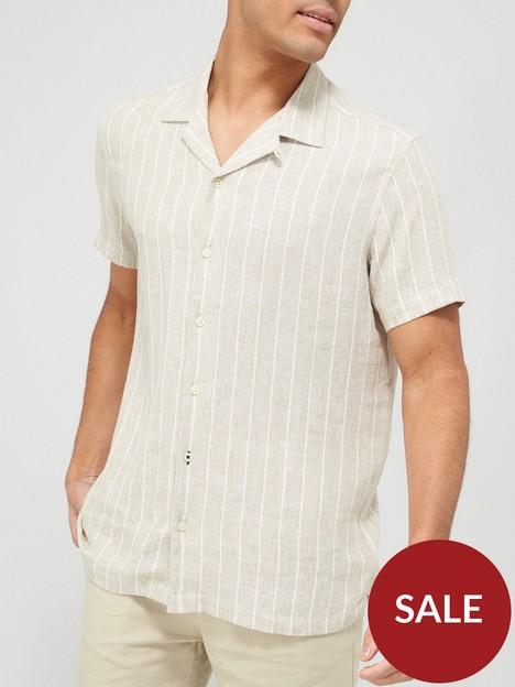 very-man-stripe-linen-shirt-stone