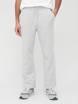 very-man-loose-jogger-with-open-hem-grey-marl