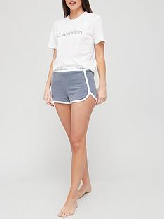 calvin-klein-modern-cotton-lounge-tee-short-set-white