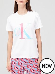 calvin-klein-ck-one-pyjama-tee-white