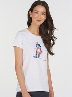 barbour-southport-printed-t-shirt-white