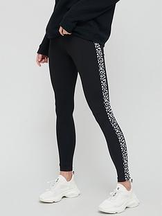 v-by-very-side-trim-legging-monochrome-animal-print