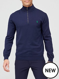 polo-ralph-lauren-golf-long-sleeve-pima-half-zip-navy